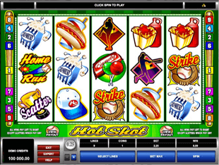 Hot Shot Slot screenshot